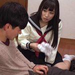 「お兄ちゃん変態だね」妹のパンツでオナニーしてたのを見つかり妹の目の前でさせられるM男兄 栄川乃亜