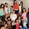 男子禁制の女子寮に管理人不在を良い事に男を連れ込んで女子大生たちが乱交パーティー