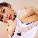 明日花キララ 最強メイドのローションヌルヌルGカップパイズリと手コキフェラで大量射精!