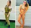 """H画像案内 【イスラエルの美人女性兵士、""""制服"""" を脱いだらあまりにもエロすぎた】"""